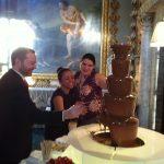 Chocolate Fountain For Hertfordshire Wedding