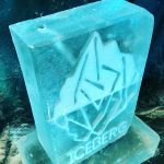 Iceberg Ice Sculpture Vodka Ice Luge for West Sussex Party