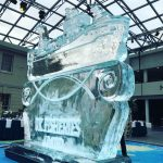 UK Fisheries Kirkella ship ice sculpture for RMG Events Greenwich