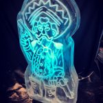 Mexican Themed Party Mexican Ice Sculpture Vodka Ice Luge