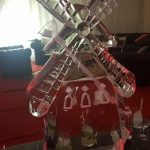 Moulin Rouge Theme Ice Sculpture Vodka Ice Luge