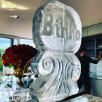 Name Ice Sculpture Vodka Ice Luge