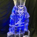 Nutcracker Vodka Ice Luge Ice Sculpture For Cambridge Christmas Party