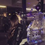 Revolver Gun Ice Sculpture Vodka Ice Luge