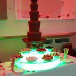 School Prom Chocolate Fountain
