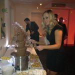 Petersham Hotel Chocolate Fountain for Richmond Wedding