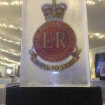 Royal Military Academy Sandhurst Christmas Ice Sculpture