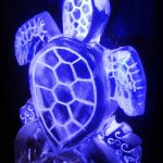Turtle Ice Sculpture Vodka Ice Luge