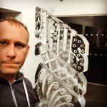 URUS Lamborghini Ice Sculpture Vodka Luge for Grange Luxury Cars Essex