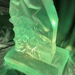Xmas Tree Vodka Ice Luge for Christmas party in North London