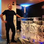 Ice Bar For Christmas Party at The Great Britain Russian Society With Mikhail Khodorkovsky