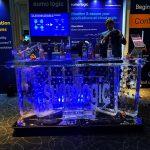 Sumo Logic Logo Ice Bar For O2 Exhibition