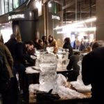 Ice Sculpture Teambuilding Event For Corporate Fun Day