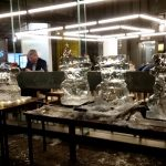 Ice Sculpture Teambuilding for Christmas Corporate Fun Day