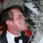 1 Scots 2 Scots 3 Scots Ice Luge Ice Sculpture for Christmas Party