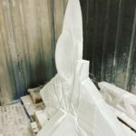 F15E Fighter Jet Ice Sculpture Ice Luge Plane for USAF