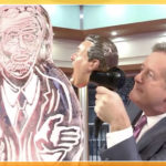 Jeremy Corby Ice Sculpture for Good Morning Britain and Piers Morgan Ice Sculpture