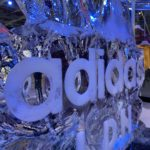 Live Ice Carving Display for Adidas Oxford Street London
