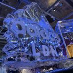 Adidas Ice Sculpture Live Ice Carving on Oxford Street London